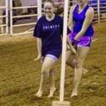 Girls rocking the Human Rodeo